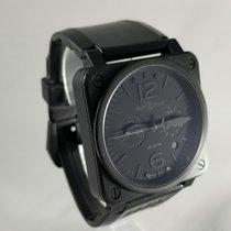 Bell & Ross BR 03-94 Chronographe pre-owned Black Chronograph Date Rubber