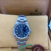 Rolex Air King Precision Сталь 34mm Чёрный Без цифр