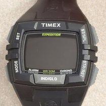 Timex Plastic Quartz Black 45mm