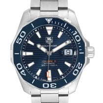 TAG Heuer WAY211C.BA0928 Steel Aquaracer 300M 41mm pre-owned United States of America, Georgia, Atlanta