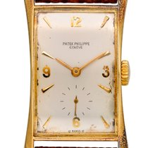 Patek Philippe Hour Glass Yellow gold 22mm Silver United States of America, New York, New York