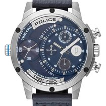 Police Steel 50mm Quartz PL15983JS.03 new