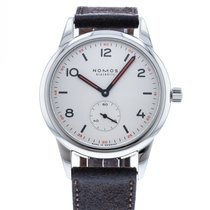 NOMOS Club Automat Steel 40mm White United States of America, Georgia, Atlanta