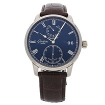 Glashütte Original Senator Chronometer White gold 42mm Blue Roman numerals United States of America, Pennsylvania, Bala Cynwyd