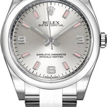Rolex Oyster Perpetual 26 Steel 26mm Silver Arabic numerals United States of America, California, Moorpark
