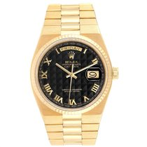 Rolex Day-Date Oysterquartz Yellow gold 36mm Black Roman numerals United States of America, Georgia, Atlanta