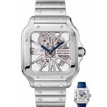 Cartier Santos (submodel) nov 2020 Rucno navijanje Sat s originalnom kutijom i originalnom dokumentacijom WHSA0007
