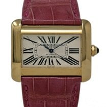 Cartier Tank Divan Yellow gold 38mm Champagne United States of America, Florida, Miami