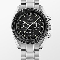 Omega Çelik Elle kurmalı Siyah 42mm yeni Speedmaster Professional Moonwatch