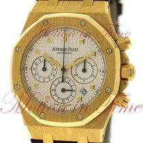 Audemars Piguet Royal Oak Chronograph Yellow gold 39mm Silver No numerals United States of America, New York, New York