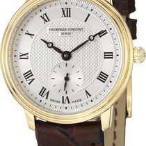 Frederique Constant Slimline Mid Size Gold/Steel 30.5mm Silver United States of America, New York, Brooklyn