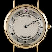 Breguet 18k Yellow Gold Silver Dial Jump Hour Classique 3620
