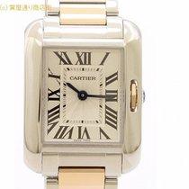 カルティエ (Cartier) カルティエ タンクアングレーズSMコンビK18PG W5310036
