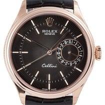ロレックス (Rolex) Rolex Cellini Date 18ct Everose Gold 50515