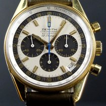 Zenith El Primero Or Jaune Chronograph G381 Box and Papers