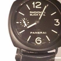 Panerai Pam op6723bb1262088 Ceramic 2008 Black Dial 45mm