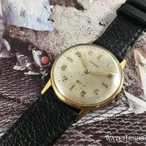 Cyma Vintage reloj suizo de cuerda Cyma Ref 30-109 18K 0,750 Oro