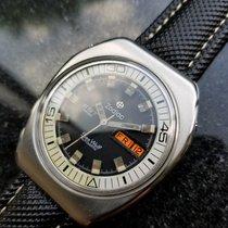 Zodiac Sea Wolf 1970s SST 36000 Bullhead Rare Swiss Automatic...