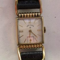 Elgin Lord Elgin 14k gold plated 21 jewels Drivers' Watch