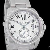 Cartier neu Automatik Kleine Sekunde 42mm Stahl Saphirglas