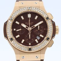 Hublot Big Bang 44 mm Rödguld 42mm Brun Inga siffror