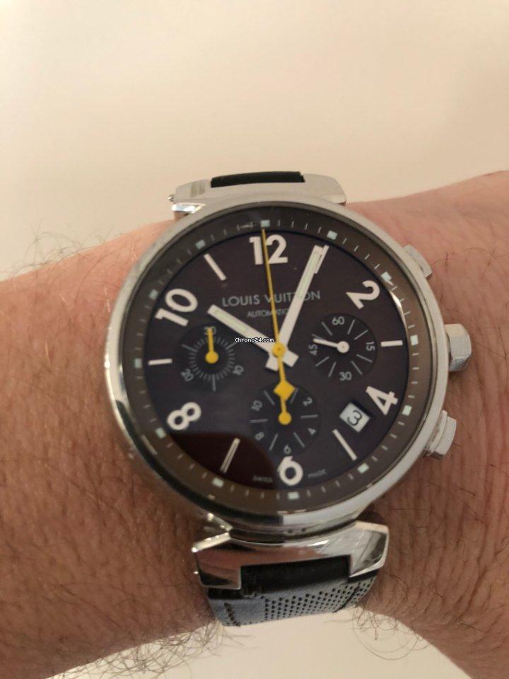 Koupě hodinek Louis Vuitton Ocel  314fbb1f501
