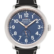 Shinola 41mm Quarz neu Blau