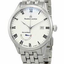 Maurice Lacroix Masterpiece Réserve de Marche Steel 40mm White Roman numerals United States of America, New York, Monsey