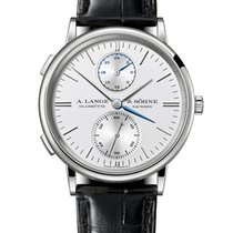 A. Lange & Söhne Saxonia White gold 38.5mm Silver United States of America, New York, New York