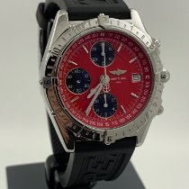 Breitling Chronomat GMT Steel 39mm Red No numerals