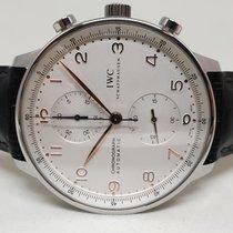 IWC Portugieser Chronograph Stahl 41mm Silber Arabisch Österreich, Baden