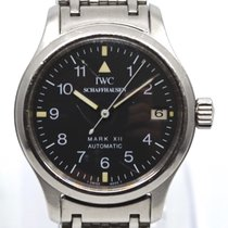 IWC Pilot Mark Steel 28mm Black