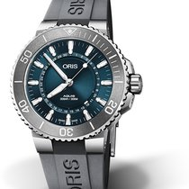 Oris Aquis Date Steel 43.5mm Blue No numerals United States of America, Georgia, Atlanta
