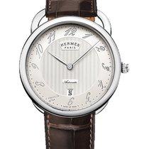 Hermès Arceau neu 2019 Automatik Uhr mit Original-Box und Original-Papieren Hermes Arceau AR8.61AQ.221/MHA1