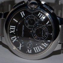 Cartier Ballon Bleu 44mm Steel 44mm Black Roman numerals United States of America, New York, Greenvale