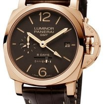 Panerai Luminor 1950 8 Days GMT PAM00576 new