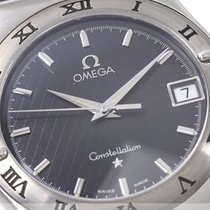 Omega Constellation 35mm Black Dial
