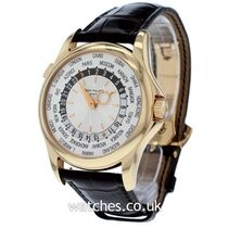Patek Philippe World Time Rose gold 38mm Silver United Kingdom, London