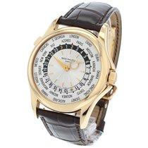 Patek Philippe 5130R Roségold 2006 World Time 38mm gebraucht