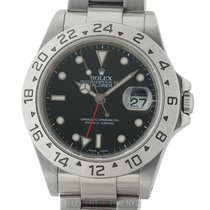 Rolex Explorer II Stainless Steel Black Dial 40mm
