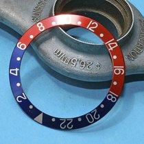 Rolex GMT MASTER 1675, 16750 Insert, inlay, lunette, bezel PEPSI