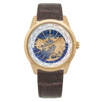 Jaeger-LeCoultre Geophysic Universal Time Or rose 41.6mm Bleu
