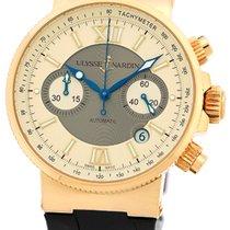 "Ulysse Nardin Gent's 18K Rose Gold  ""Maxi Marine Chronograph""..."