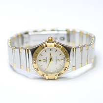 Omega Constellation 23mm Stainless Steel and 18K Gold Ladies...