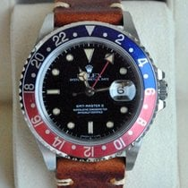 Rolex [Fuchsia+Fat Font+Service +24M. Warr.] GMT Master II...