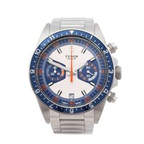 Tudor Heritage Chronograph Chronograph Stainless Steel Men's...