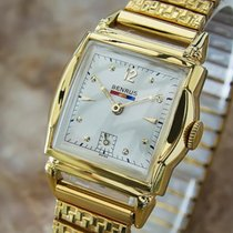 Benrus 1940s Swiss Made Gold Plated Unisex Ladies Manual...