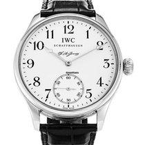 IWC Portugieser Handaufzug neu Handaufzug Uhr mit Original-Box und Original-Papieren IW544202