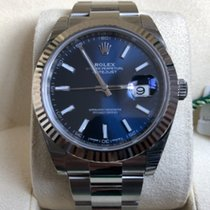 Rolex Datejust 126334  Stickers Seals Blue Dial 2018