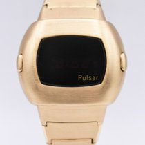 Pulsar Yellow gold 42mm Quartz pulsar p3 pre-owned